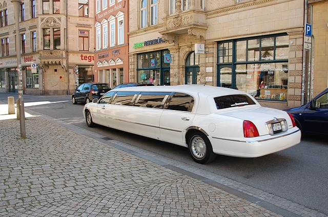 When and where to show up in a limousine