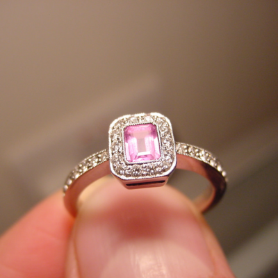 What to Watch Out For When Buying Pink Diamond Rings